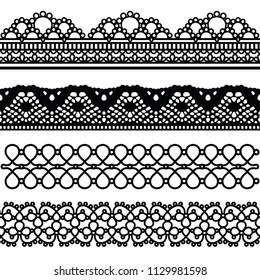 Cloth-lace collection can use for decorate your art, work design, card, etc.