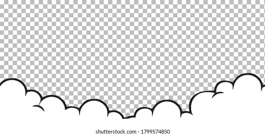 cloud comic vector illustration. pop art style