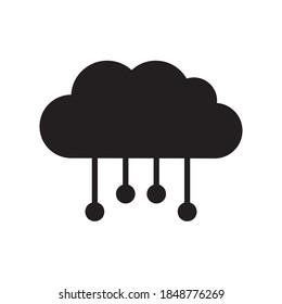 Cloud Computing Icon Vector Illustration Design