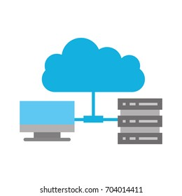 cloud computing with server