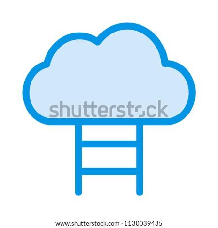 Cloud Database Storage Stock Vector (Royalty Free
