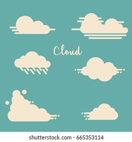 Cloud Flat Design