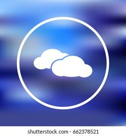 Cloud Icon Vector.
