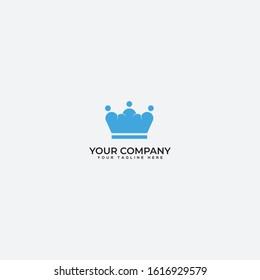cloud and king logo. king design logo, royal cloud logo
