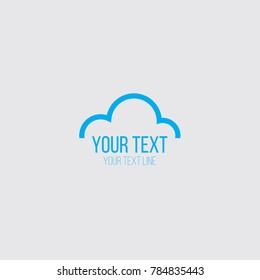 cloud logo concept
