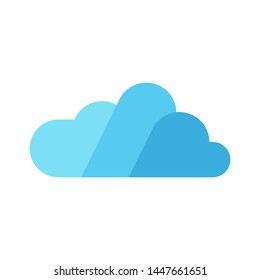 Cloud logo template vector icon design