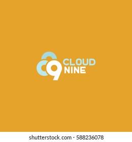 Cloud nine logo.