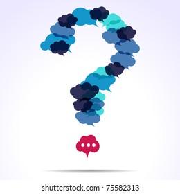 cloud question mark