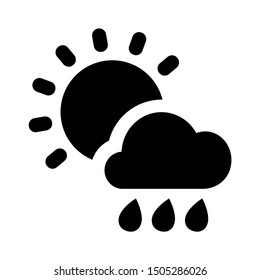 cloud rain icon - From forecast, Climate and Meteorology icons, widget icons