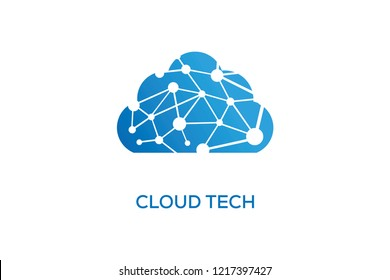 CLOUD TECH LOGO DESIGN