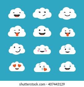 Smiley Clouds Images Stock Photos Vectors Shutterstock