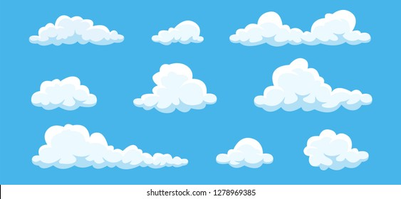 Cartoon Cloud Stock Vectors Images Vector Art Shutterstock Use them in commercial designs under lifetime, perpetual & worldwide rights. https www shutterstock com image vector clouds set isolated on blue background 1278969385