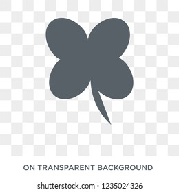Clover icon. Trendy flat vector Clover icon on transparent background from nature collection.