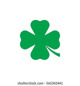 Clover icon vector, filled flat sign, solid colorful pictogram isolated on white. St Patricks day symbol, logo illustration