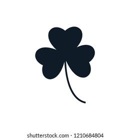 clover leaf icon logo template