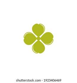Clover Leaf Logo Template Design