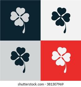 clover vector icon.logo design