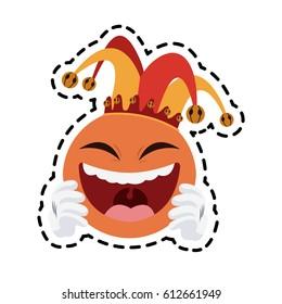 clown cartoon icon image