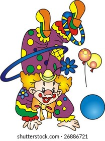 clown in a circus