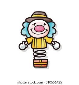 Clown doodle