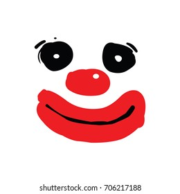 Image Clown royalty free clown face stock images, photos & vectors   shutterstock