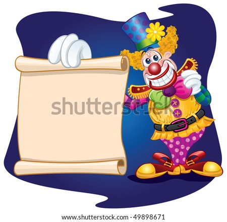 clown template stock vector royalty free 49898671 shutterstock