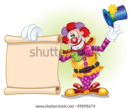 clown template stock vector royalty free 49898674 shutterstock