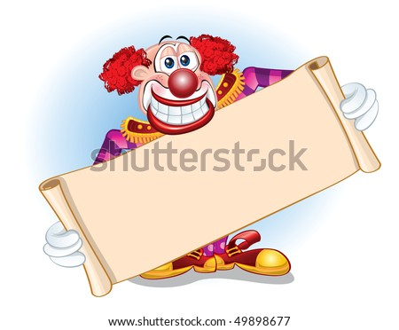 clown template stock vector royalty free 49898677 shutterstock