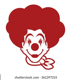 clown vector icon