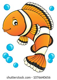 Clownfish topic image 1 - eps10 vector illustration.