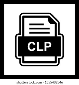 CLP File Document Icon