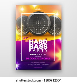 Club Music Party Printable Flyer