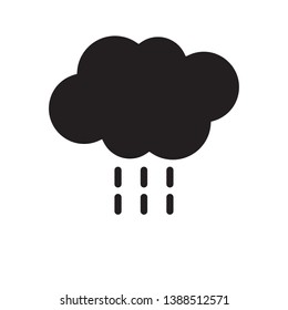clud rain symbol icon sign, vector, eps 10