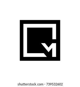 cm letter vector logo