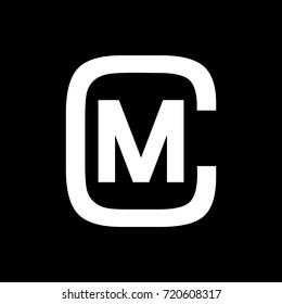 CM Letters Monogram Logo