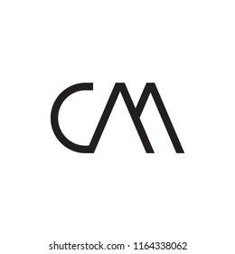 CM logo letter design