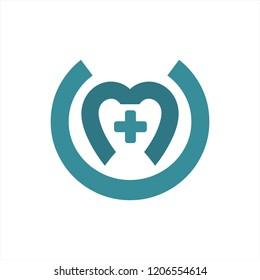 cm, mu, mc initials health care company logo