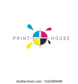 CMYK. Printing, Print house