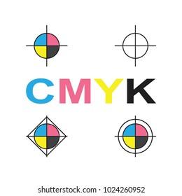 cmyk vector icon