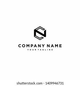 CN Logo / Hexagon logo / C Logo / N logo