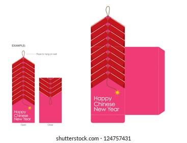 CNY festive packet design