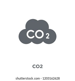 Co2 icon. Co2 design concept from  collection. Simple element vector illustration on white background.