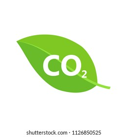 Co2 icon sign