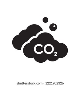 Co2 icon. Trendy Co2 logo concept on white background from Industry collection. Suitable for use on web apps, mobile apps and print media.