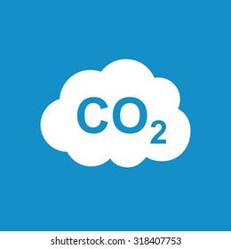 CO2 icon . Vector illustration