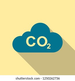 co2 vector icon