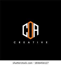 COA Letter Initial Logo Design Template Vector Illustration