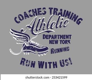 coaches training athletic vector art