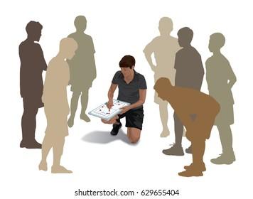 Coaching sport