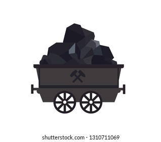 Coal cart, mine chariot